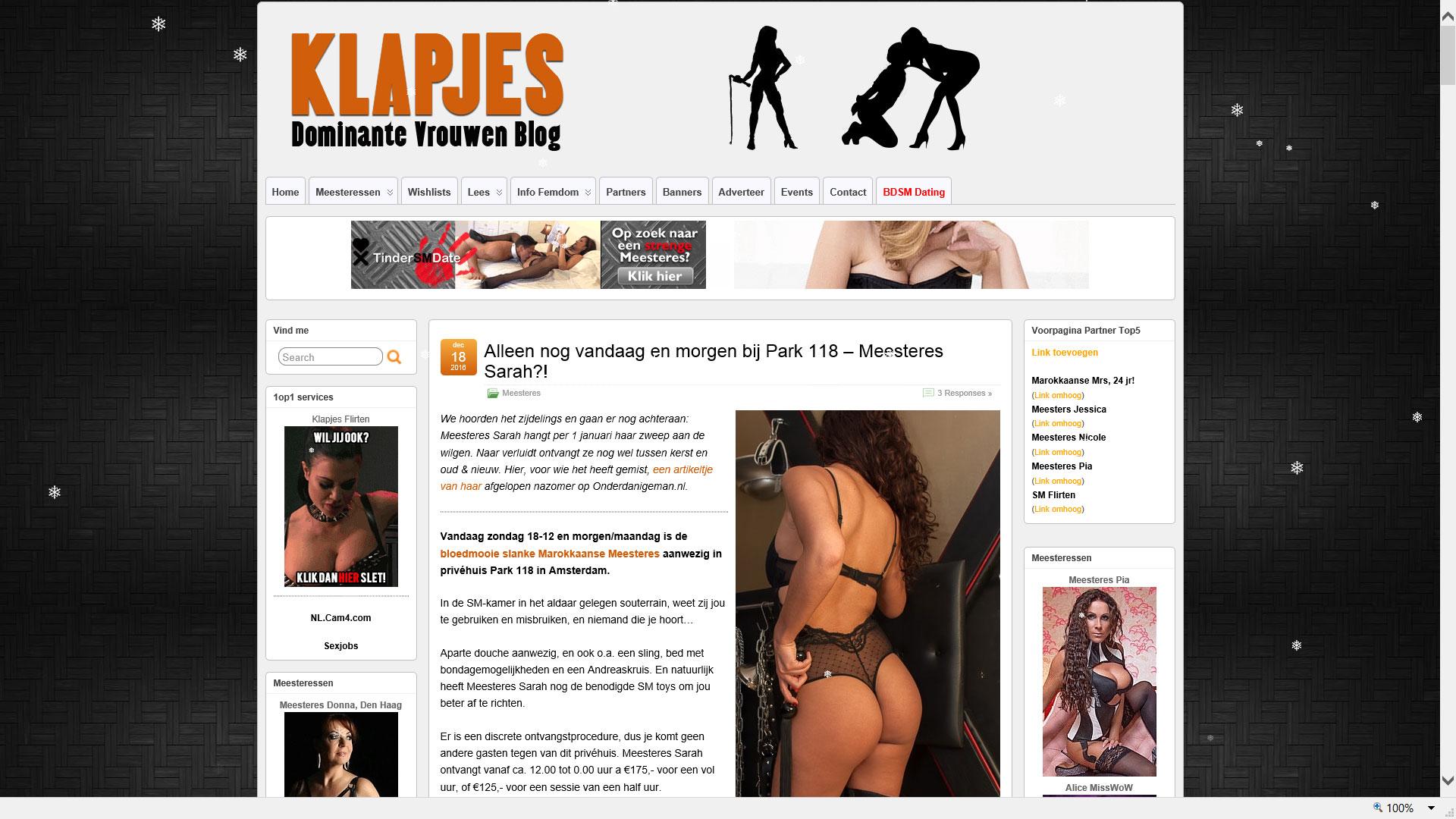 Klapjes.nl / .com